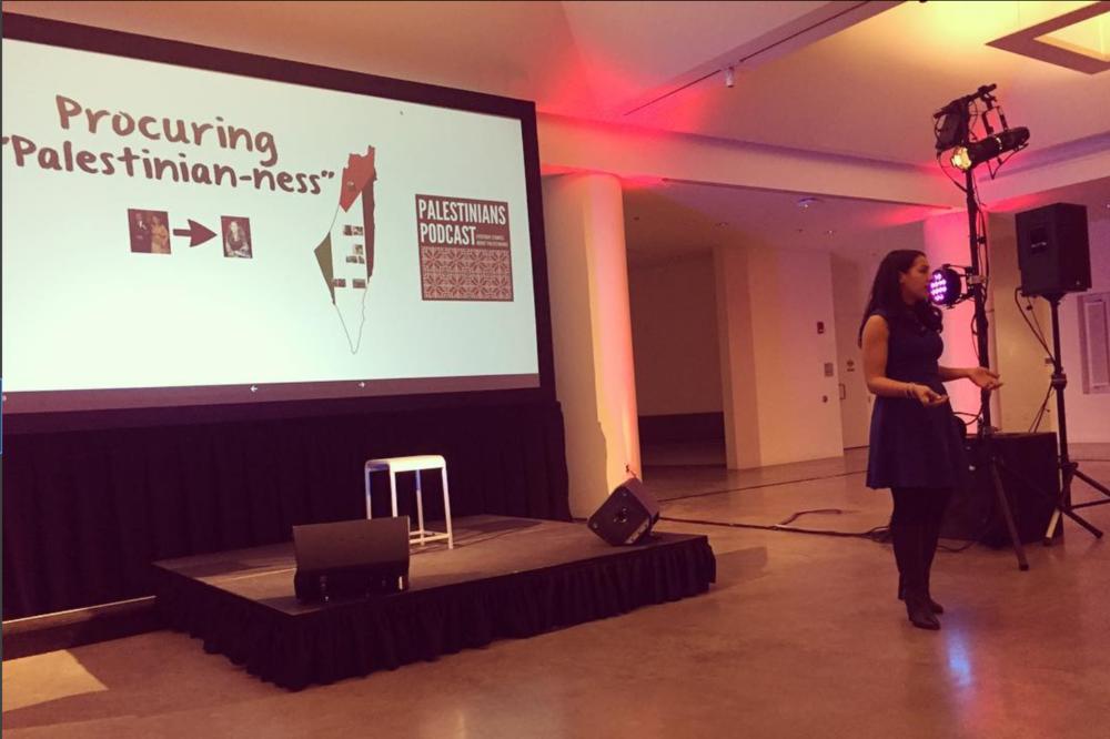 Procuring Palestinian-nessNovember 12, 2016, Harvard Arab WeekendCambridge, MA. - Performer: Nadia Abuelezam