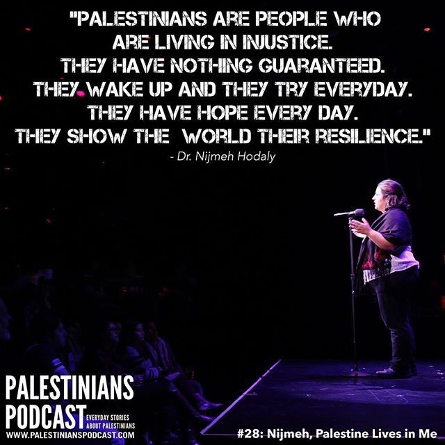 This month we commemorate the 70th anniversary of the #Nakba with TWO episodes. Tomorrow we release the first of these two featuring Dr. Nijmeh Hodaly. Her moving story highlights struggles that young people living in #occupied #Palestine face and discusses the challenges of raising Palestinian children in the #diaspora. All 27 previously released episodes are available on our website (see link in profile). May we always remember and resist.