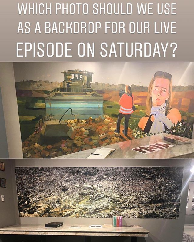 Help us decide which backdrop to use for our live episode at the @palestinemuseum.us on Saturday at 1:30PM EST. Vote on our Instagram story NOW!!! Follow us: @palestinianspodcast!