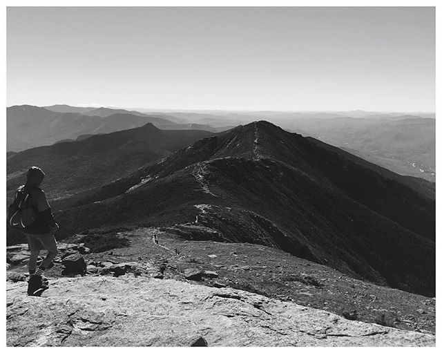 Franconia Ridge: the second highest range of peaks in the white mountains and the highlight of the first 1/2 of my Pemi Loop hike. Stoked have to checked it off the list!