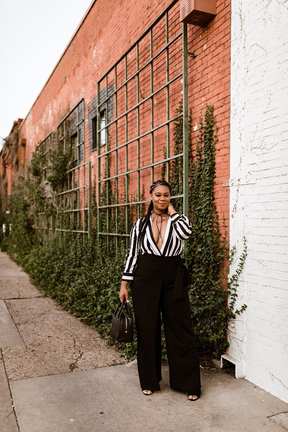 Date Night Outfit -  Stripes - Natalie Greagor.jpg
