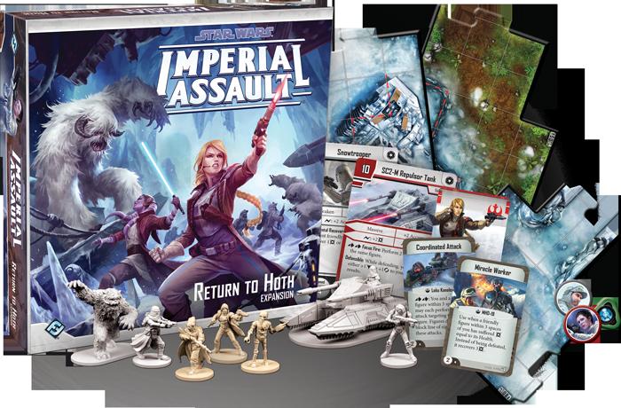 Imperial Assault - © Fantasy Flight Games, TM and © Lucasfilm LTD.