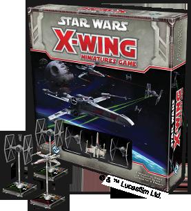 Star Wars X-Wing: © Fantasy Flight Games and © Lucasfilm Ltd.