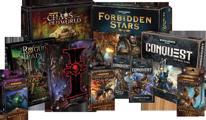 Games Workshop - © Fantasy Flight Games and© Games Workshop