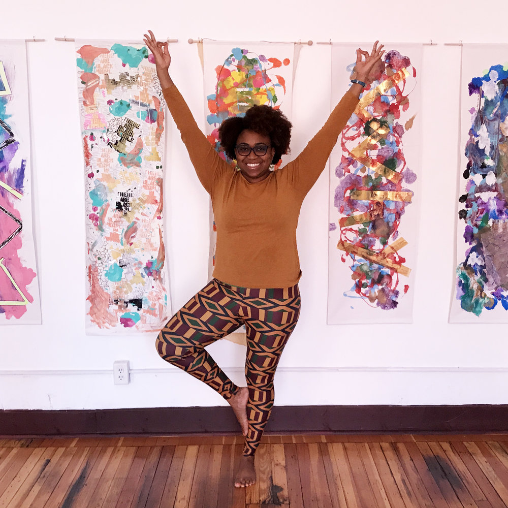 Unoma Akamagwuna  Yoga Teacher  Get to know Unoma at her Trap and Twerk Yoga class!