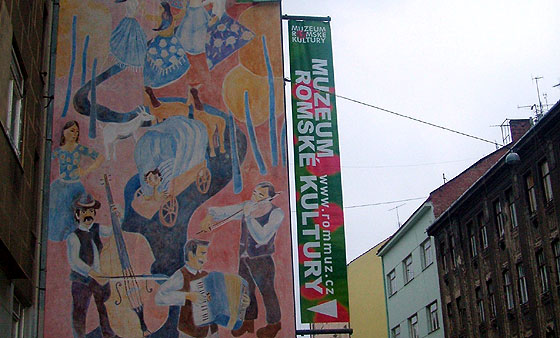 "Museum of Romani Culture located in the ""Brno Bronx"""