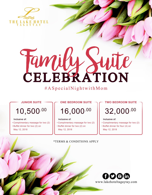 Family Suite Celebration