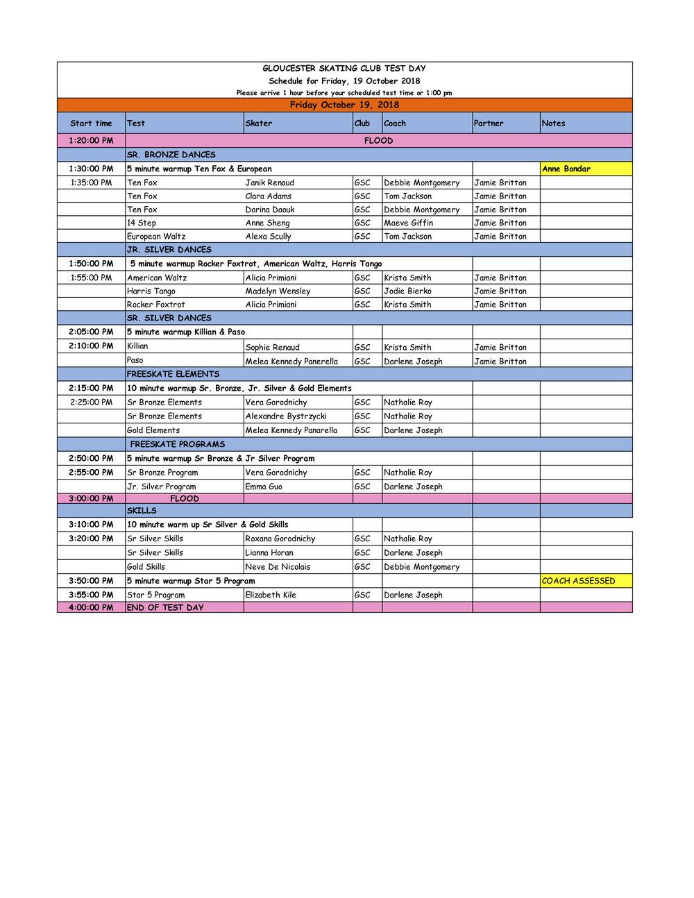 Gloucester October 19 Test Day Schedule.jpg