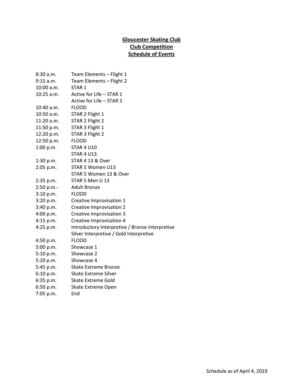 Schedule of Events - GSC Club Competition - April 2019 0 20190403.jpg