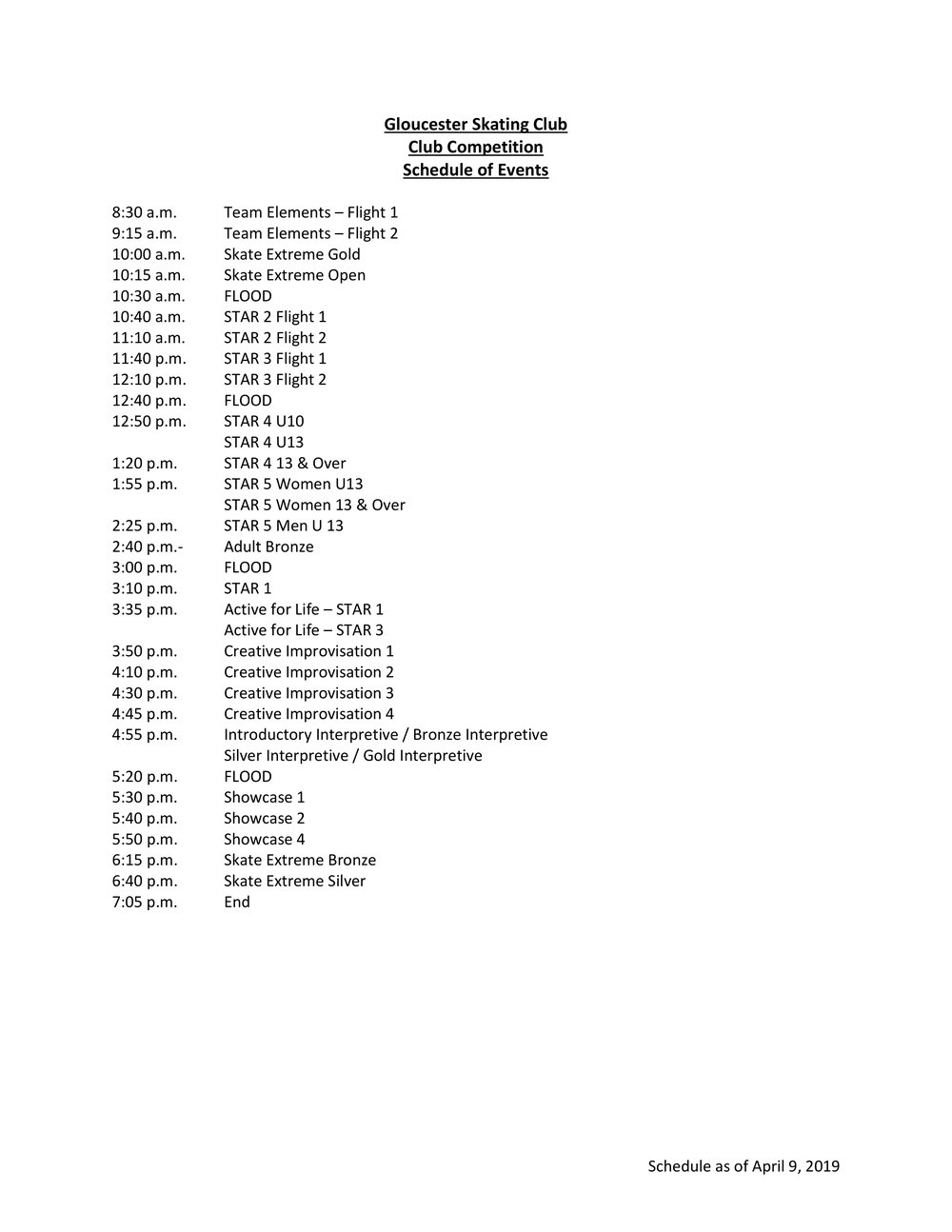 Schedule of Events - GSC Club Competition - April 2019 - 20190409.jpg