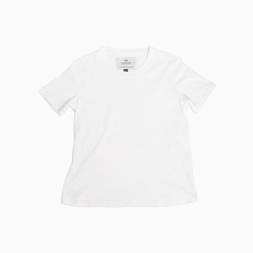21ca55ba28038 Classic T-shirt | Women | White | 7 oz Ringspun Jersey — Nil Apparel ...