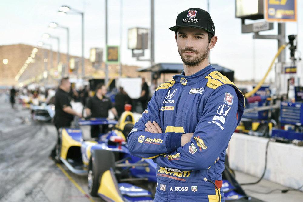 Rossi before practice.