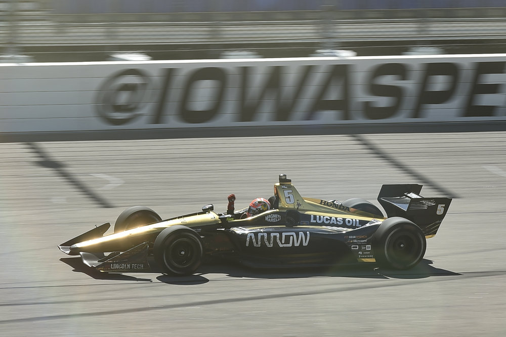 James Hinchcliffe - Win at Iowa