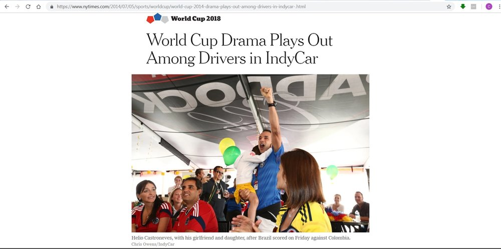 NY Times - World Cup