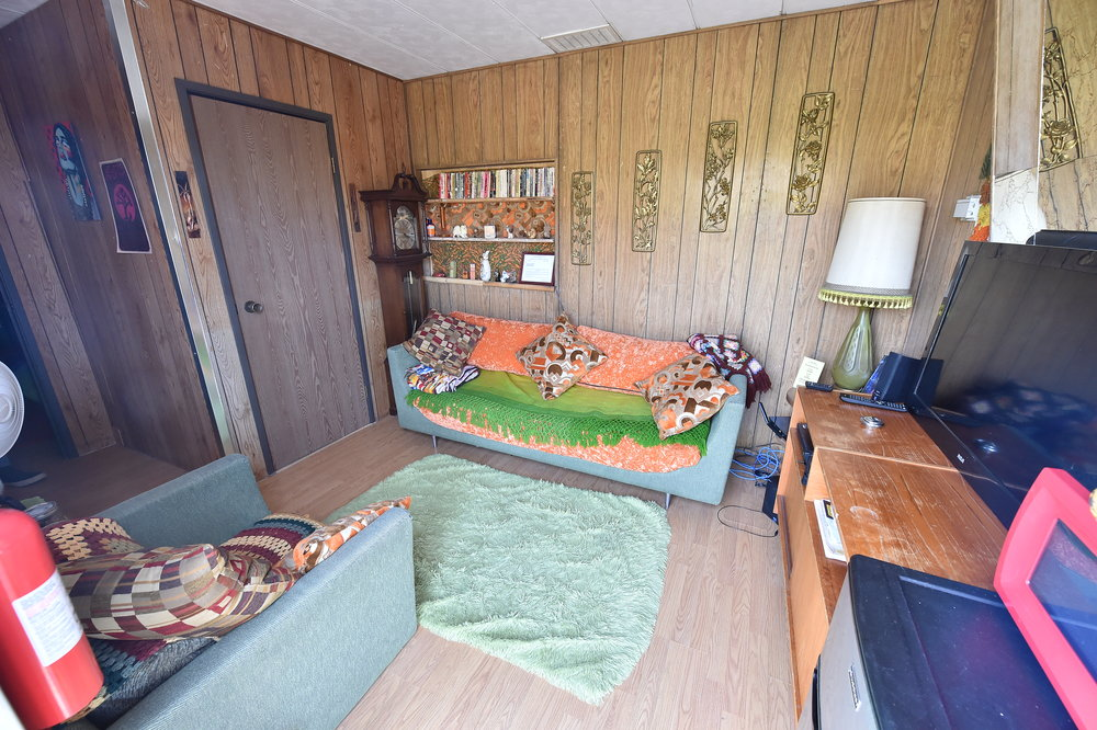 70's trailer was home for a couple nights.