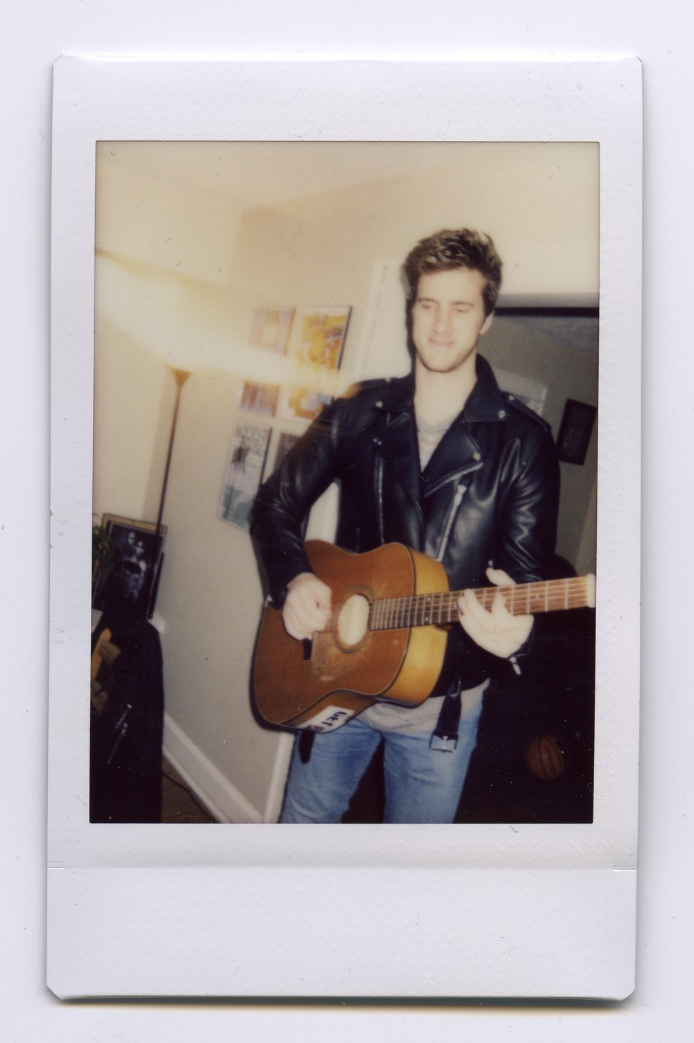 Rock & Roll Fantasy - Chris Cross - Shot on Fujifilm Neo90 Camera with Fuji Instant Film, Nashville, TN