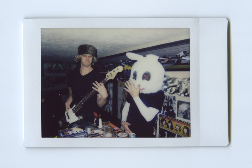 The Band - Shot on Fujifilm Neo90 Camera with Fuji Instant Film - Speedway, IN