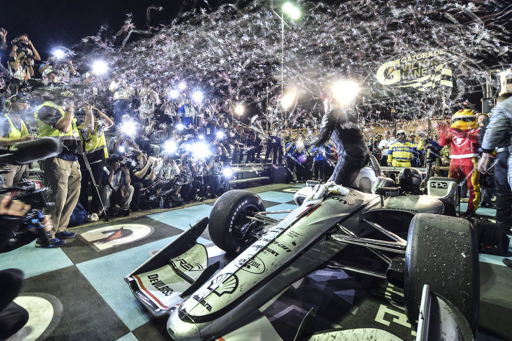 Lights, Camera, Action - Josef Newgarden wins at Phoenix