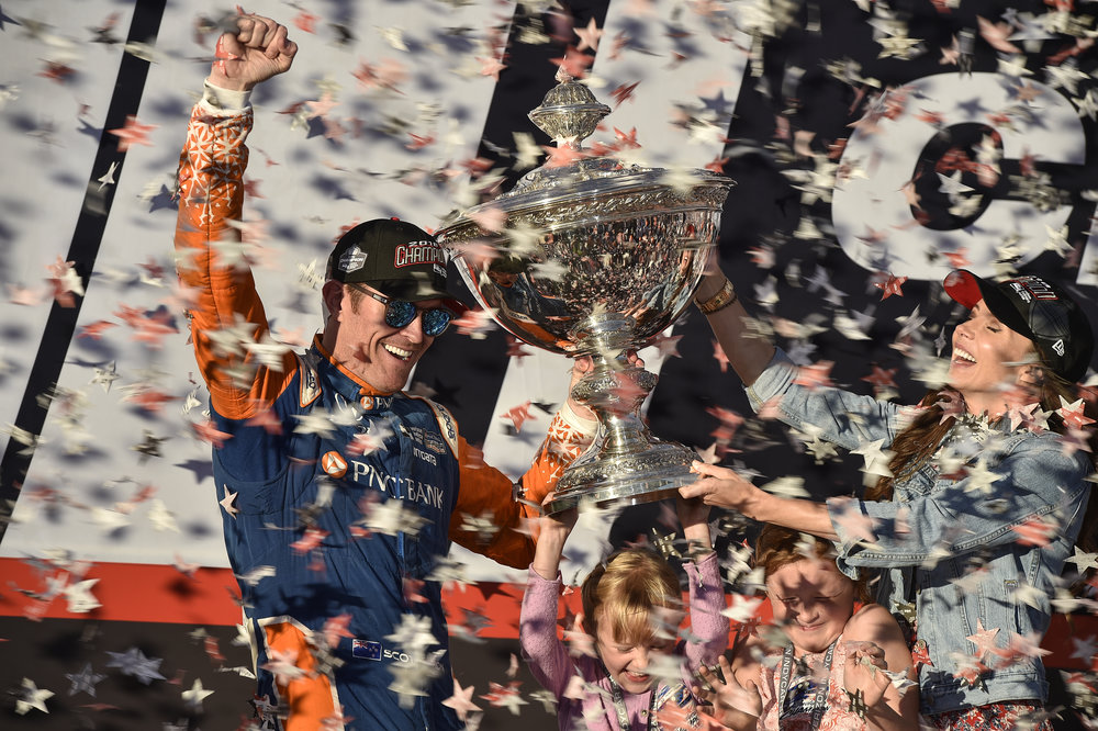 We build and wait the entire year for this moment. Drivers, crew members and engineers focus every second of every race for this opportunity to undisputedly claim they are the best. Scott Dixon – Car 9 crew, 2018 IndyCar series champions.