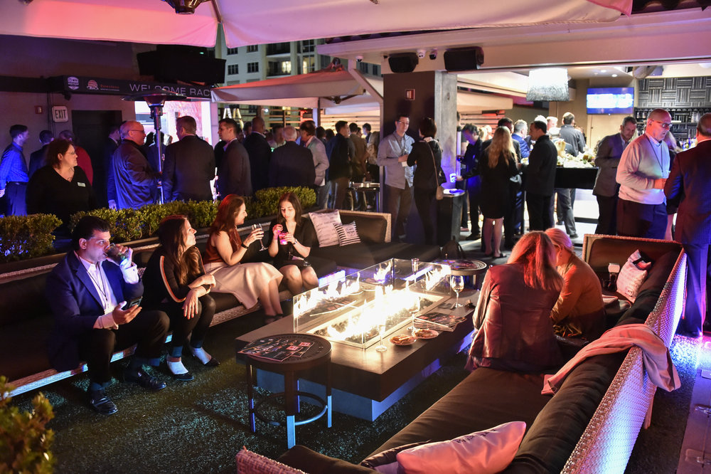 IndyCar Welcome party, downtown St. Pete
