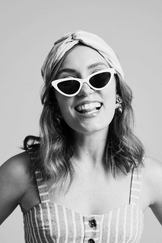 Sunglass and Headband: Topshop Photographer: Noah   Asanias