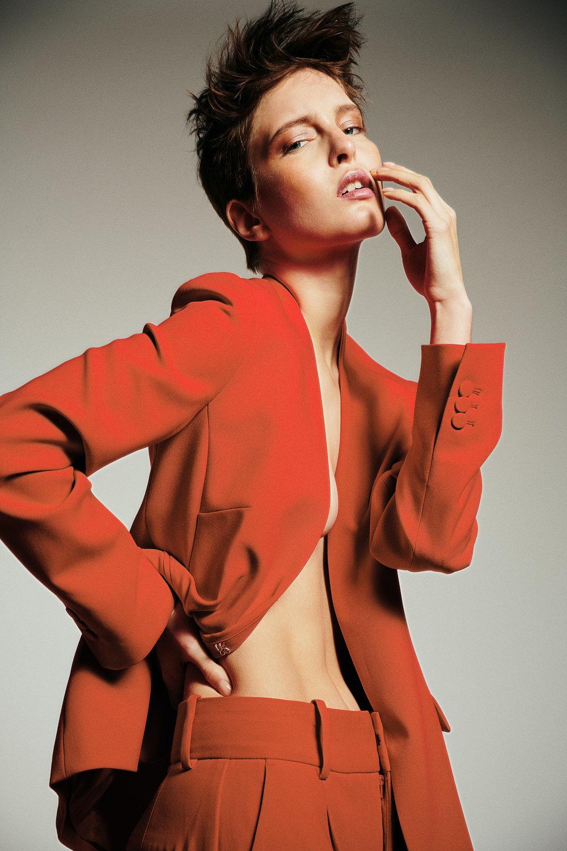 Suit: Zara