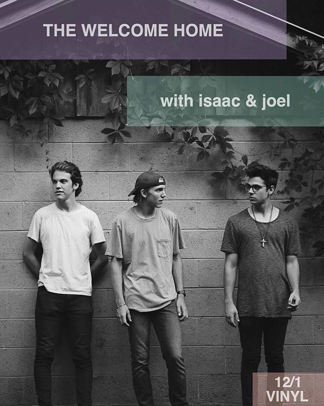 We are playing in Atlanta on 12/1 with @isaacandjoel 🤘🏻 come hang!!