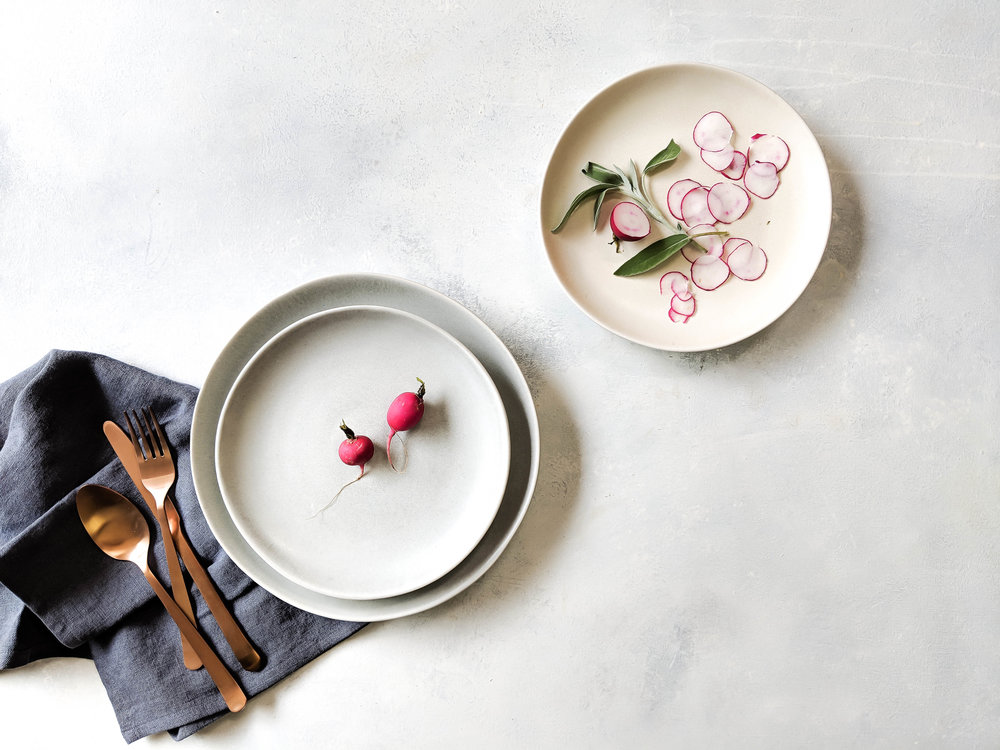 If your happy place is the dinner table — we totally get that. - That's why we created a tableware collection that was thoughtfully designed for the modern home.