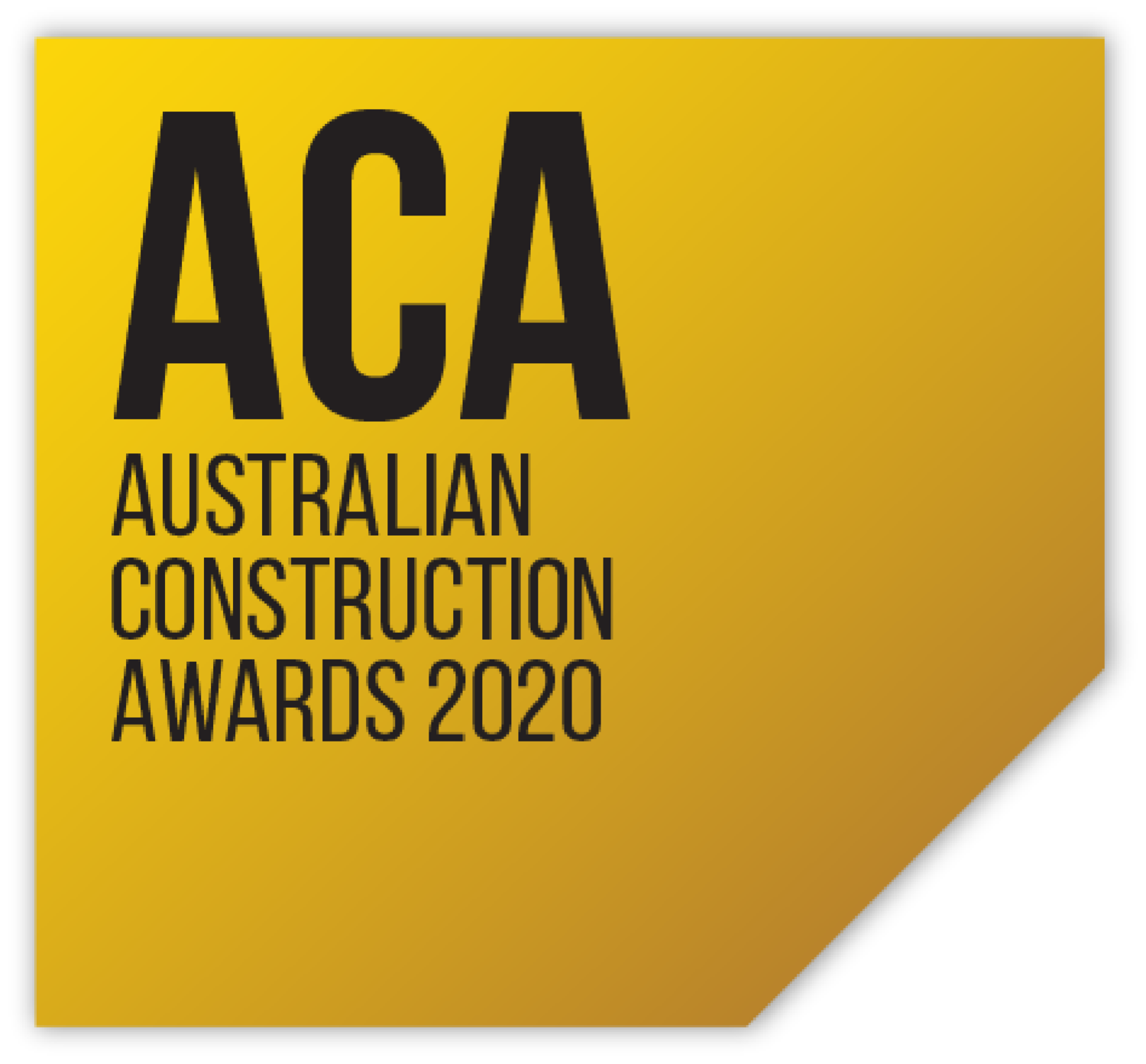 Australian Construction Awards 2020