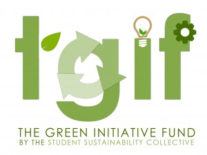 - The Green Initiative Fund by the Sustainability Fund is our biggest sponsor. They provide grants for projects that aim to reduce UCSD's negative impact on the environment and lead UCSD to a more sustainability community.