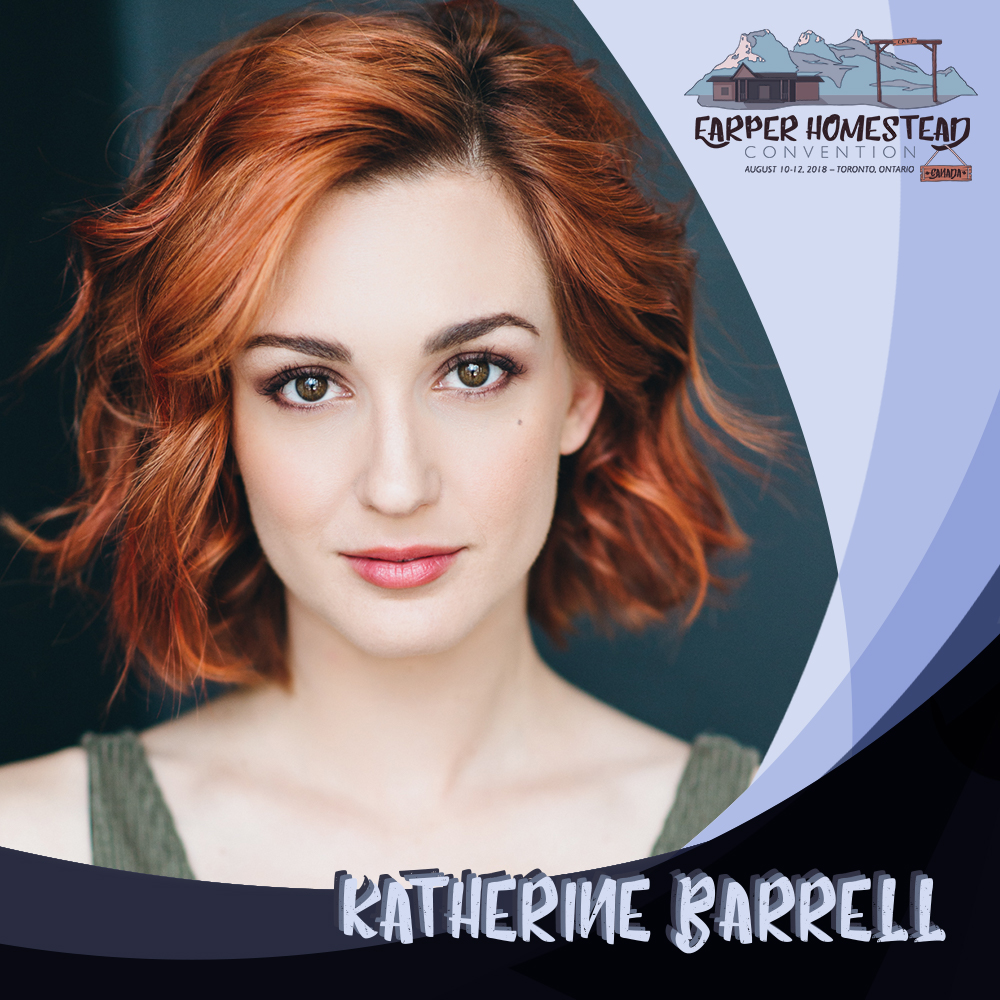 "Katherine Barrell   When Katherine was little, dreams for her future were split between being a star basketball player in the WNBA and ""the voice of the Disney characters"".   A proud Canadian, Katherine is an actor, producer and most recently a director. She studied at the prestigious George Brown Classical Theatre School and fell in love with the intricacy of film acting soon after graduation.  Katherine has appeared in numerous television shows in both Canada and the USA. She has a strong love for comedy performance and studied improvisation at the famous Groundlings Comedy School in California. She is most know for her role as Officer Nicole Haught in The SyFy Network's   Wynonna Earp  . She plays sorority dictator, Jacqueline Gill, in The Scarehouse, which was released by Universal Pictures across North America in 2015. Following, she starred along side Bollywood superstar Jacqueline Fernandez in the psychological thriller   Definition of Fear  , helmed by Oscar winning producer Christopher Branch and set for international release in Winter 2017. Katherine has has just completed filming on feature film,   Girls Night Out  , starring alongside Mackenzie Mauzy (Into The Woods, Bold and the Beautiful). This fall she is thrilled to join the cast of CBC's new half hour comedy,   Workin Moms  , helmed by showrunner Catherine Reitman.  On the other side of the camera Katherine had produced 7 short films. Most notably her comedy short,   Issues  , was named one of the top three Canadian short films of 2013 by Television critic Richard Crouse. Through her production company, Kit Media, She developed Issues into a television show that was optioned by Edyson Entertainment. She is currently adapting her most recent short,   Dissecting Gwen  , into a half hour comedy for television.    Although acting continues to be her focus and first love, Katherine's newest endeavour is directing, finding it the perfect marriage between her acting roots and business brain. She is currently in post-production with two directing projects   Cannonball   and   Dissecting Gwen  ."
