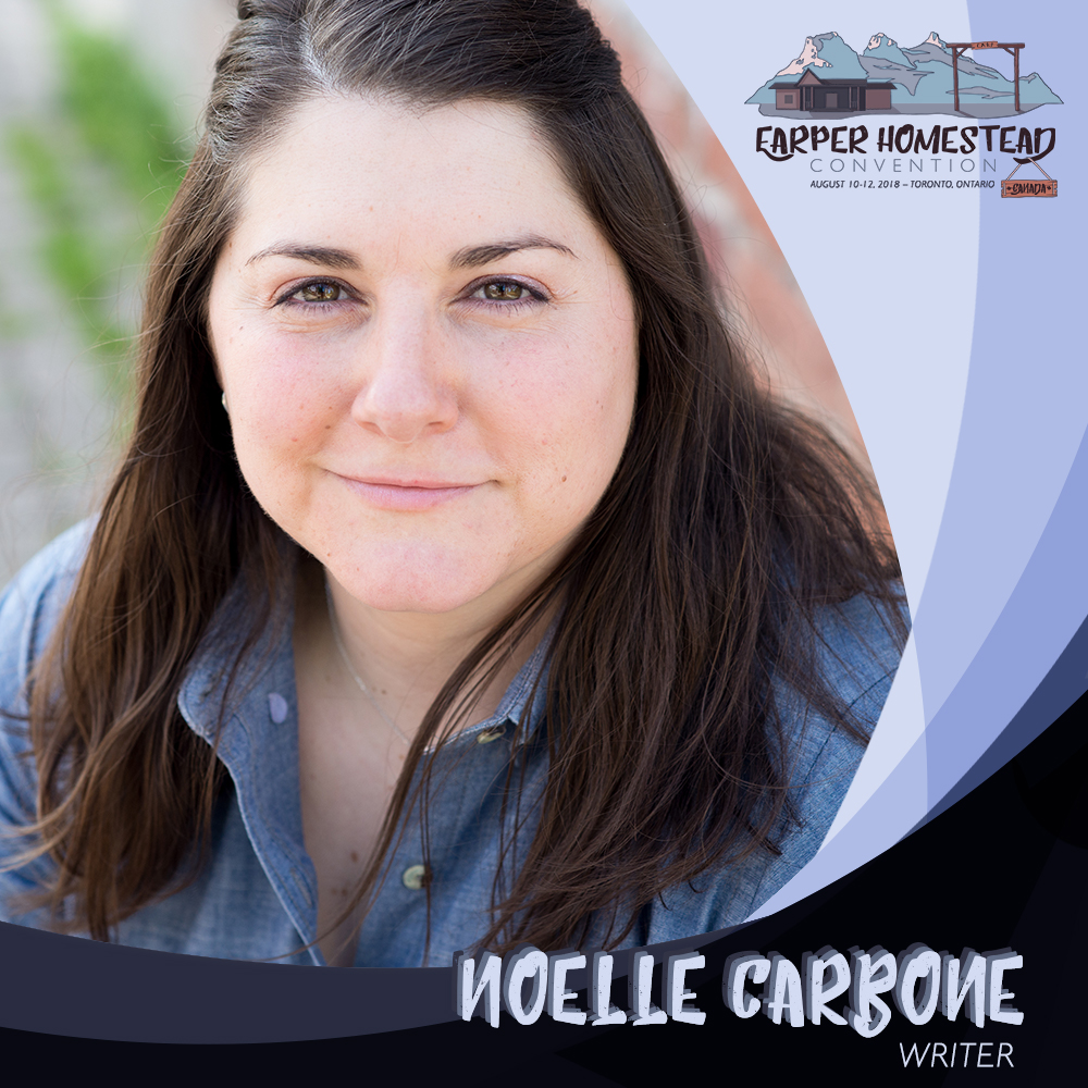Noelle Carbone,  Writer