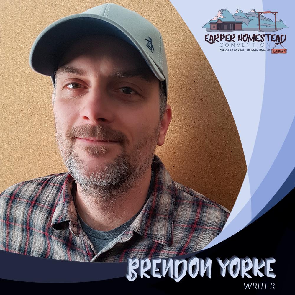 Brendon Yorke,Writer