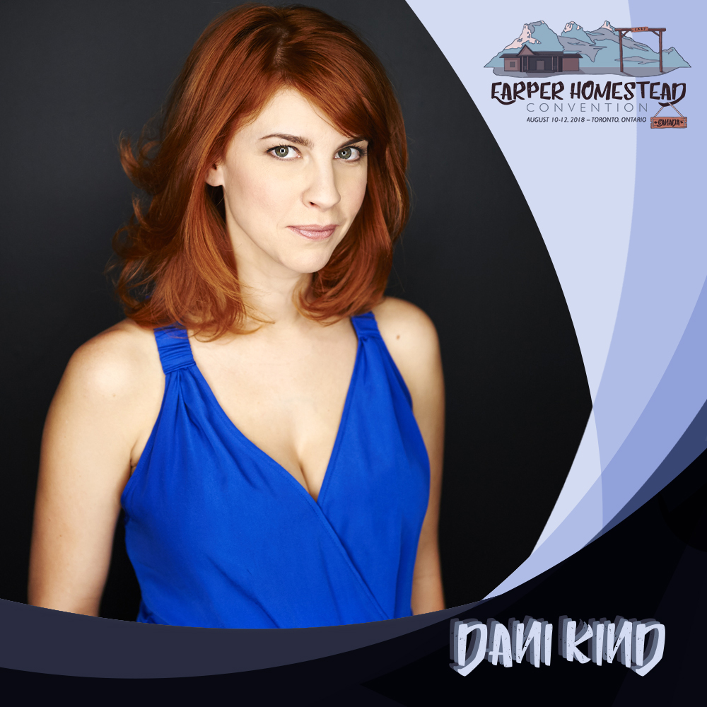 Dani Kind   Toronto based actress Dani Kind stars in the series regular role of 'Anne' in CBC's half-hour comedy series   Workin' Moms  starring writer/producer Catherine Reitman.  Kind can also be seen guest starring as 'Mercedes Gardner' on SyFy's hit series   Wynonna Earp  ,and recently won Best Performance at the FAVA awards for her lead role in the short film   Yellow Lines  .  She most recently worked with director Veena Sud on her latest film,   Between Earth and Sky   starring award winning actor Peter Sarsgaard.