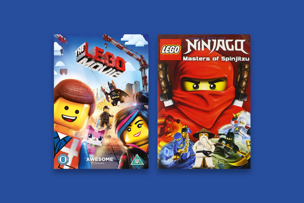 I spent weekends watching The Lego Movie and the Ninjago series (all for the first time) to fully understand who and what I was designing for.