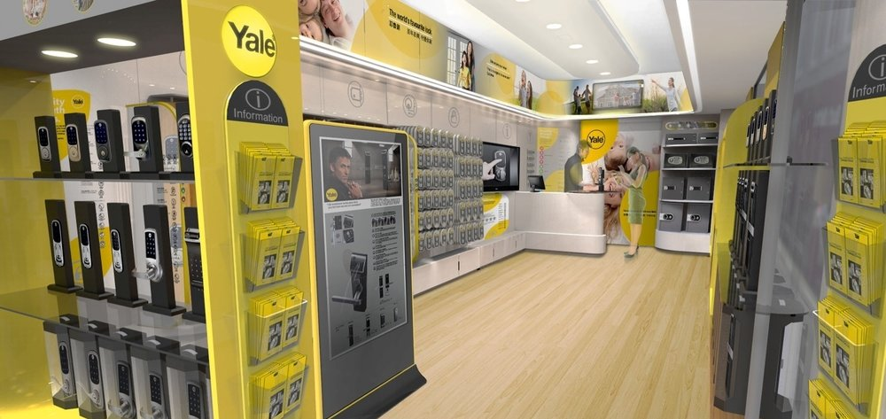 Interior Design - YALE - Retail Space