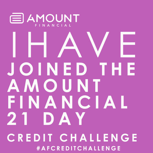 Simple! - Just click here and register.Share the page with friends and family who could benefit from this challenge, including #AFCreditChallenge .