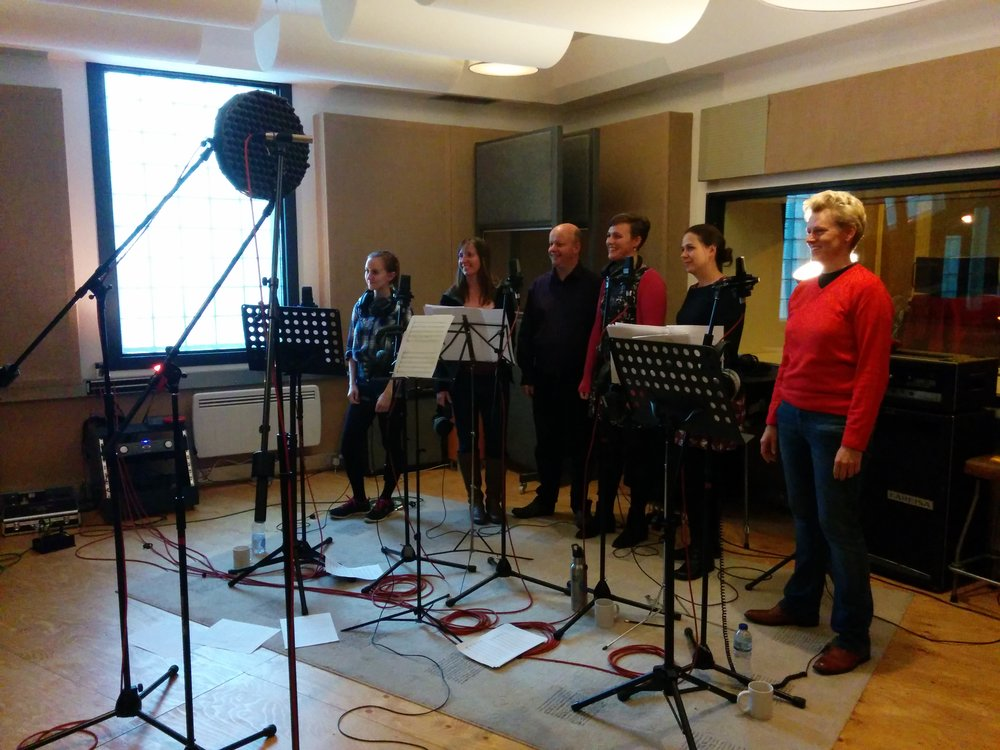 The Exultate Singers - Recorded at Invada Studio Bristol - Conducted by David Ogden