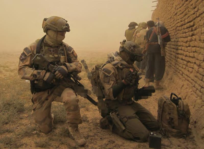 I appen Militärt under min kategori ELIT kommer du bland annat få läsa om sveriges specialförband, Särskilda operationsgruppen. Foto: Försvarsmakten
