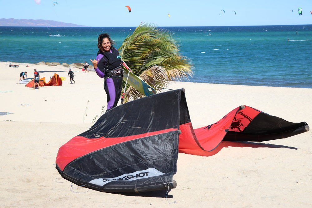 Sign up with us and get the tools you need to be independent kiteboarder in a 3-4 day course. You can do it!