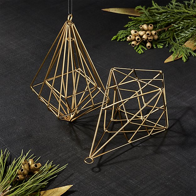 Gallet drop ornament
