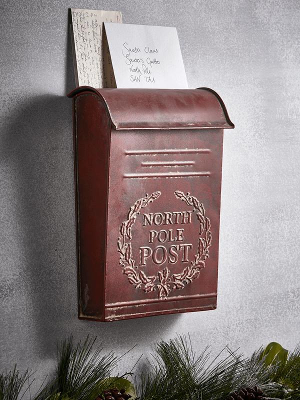 Festive post box