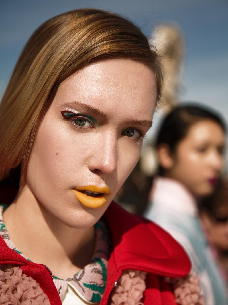 Models: Melissa Pope @themelissarae // Dylan Zoeller @dylan_zoeller Total look: Alessandra Caponera @alessandracaponera