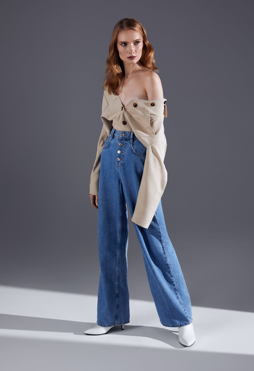 Jeans Mango, shirt H&M, shoes Aldo