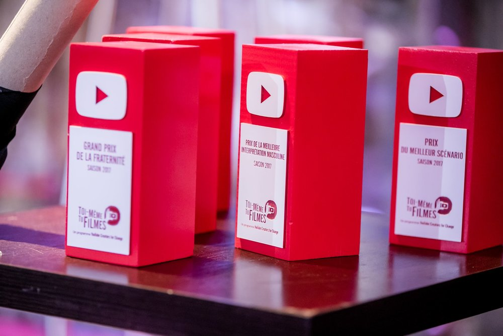 """Récompenses YouTube pour le festival """"Toi-même tu filmes"""", organisé par l'agence DEEP DIVE -  https://deepdive.business.site/"""