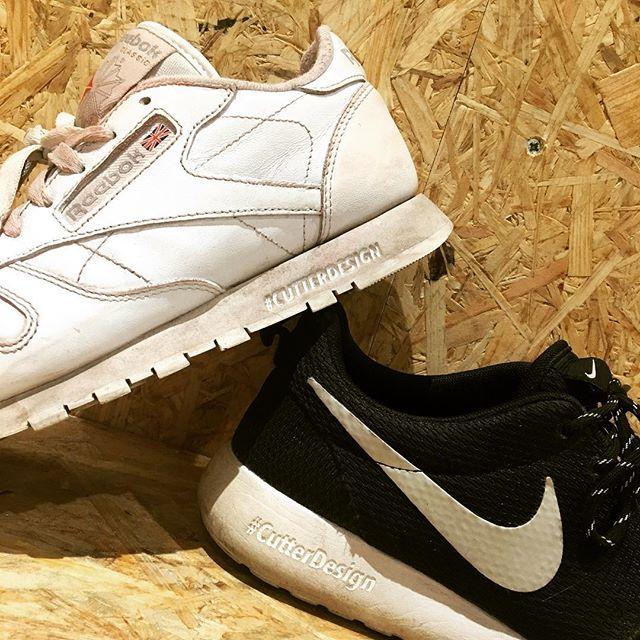 Personnalisation de sneakers - par Cutter Design