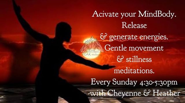 ☆Every Sunday☆ Mindful Movement & Stillness Meditations: 🕊30 minute movement meditations combined with breathwork. Allow your MindBody to release unwanted energies, generate new energies, deepen, strengthen & align with your intentions. 🕊30 minute stillness meditations using various styles drawn from ancient and modern cultures and practice.  Sessions start at 4:30pm Please arrive 10 minutes early to settle in to your space.  Bookings preferred: Inbox for booking or Email: info@peakwellbeing.org.au $15 per casual session or $75 for 6 session pass.  Sacred space: ~ mats, cushions & blankets provided. ~ room is gently warmed to a comfortable temperature this winter. 🔥  Bring with you: ~ water bottle ~ item to put in centre of circle for blessing ~ please take shoes off at door ~ this is a quiet, safe space with no judgement, so please feel free to embrace your own perspective and open mind.