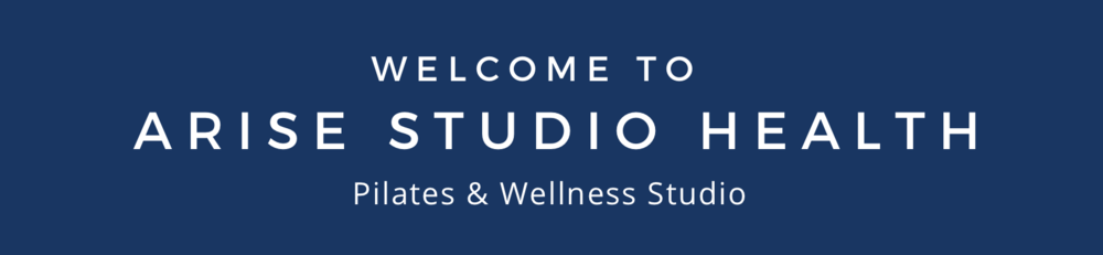 welcome to arise studio health banner homepage northcote