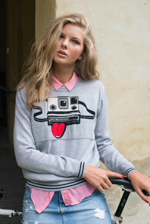 Polaroid Sweater