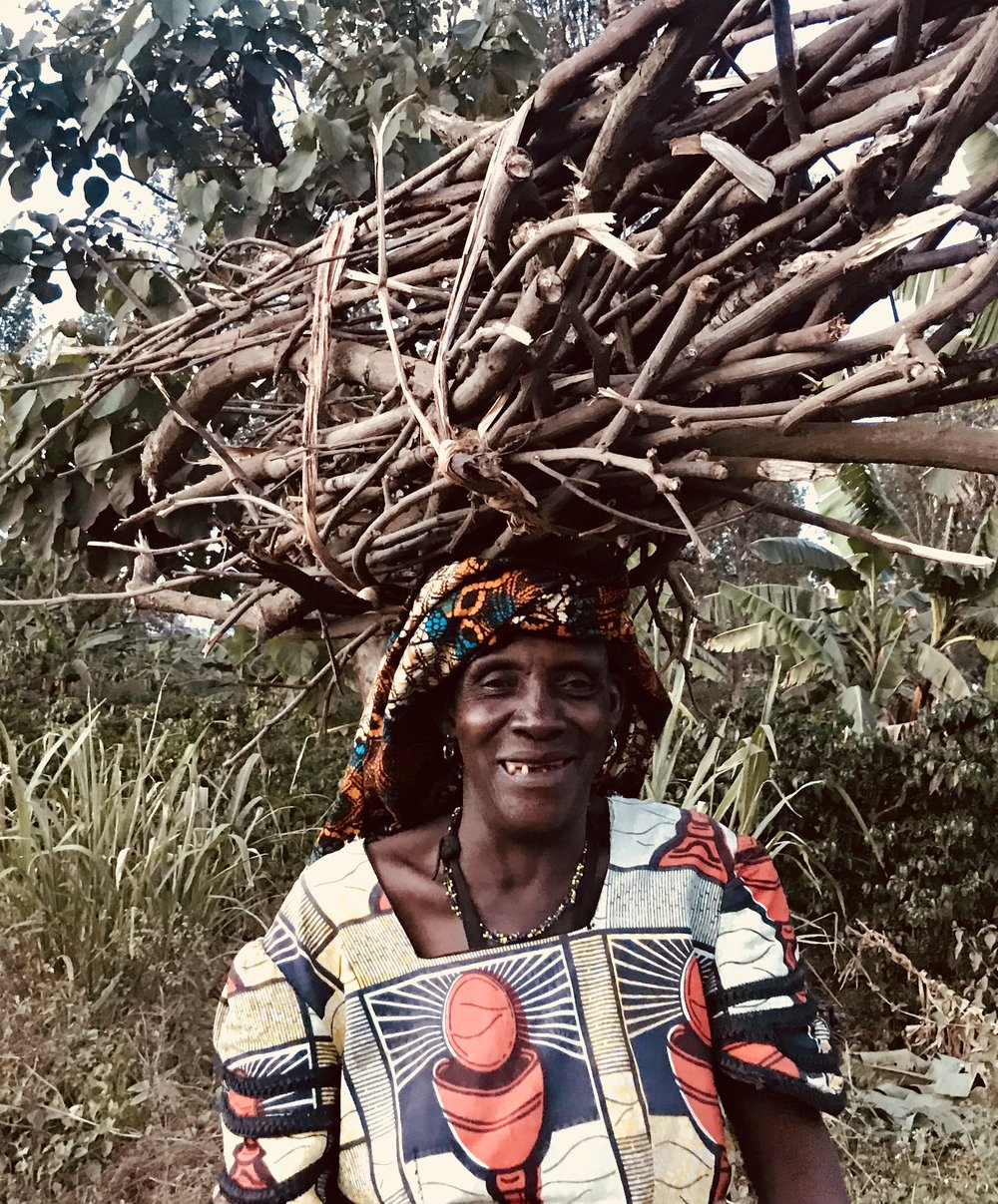Woman in Arusha Carrying Firewood.jpg